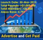 MyPayingAds-Advertise and Get Paid!